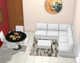Recanto Paraíso Brumatti Dayane - Sala e Sala de Jantar
