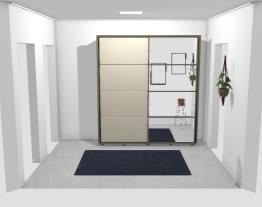 novo corredor na antiga cozinha