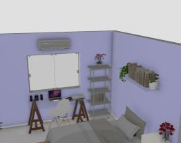 meu quarto novo