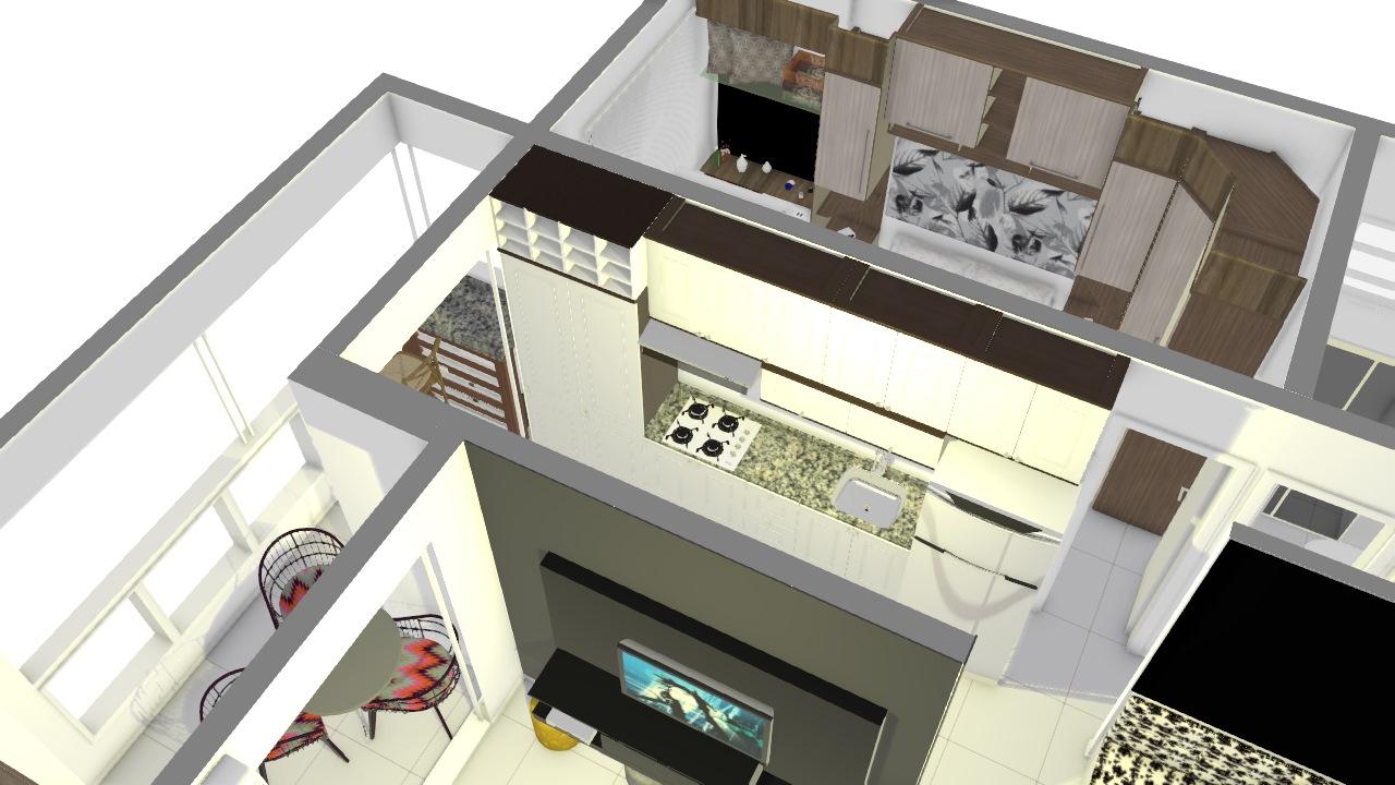 Apartamento Unitá Provenzza Modulados191