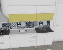 Cozinha Dandara Verde - Amarela