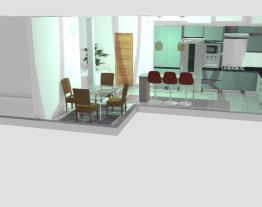 Projeto casa cozinha