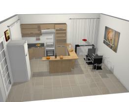 Cozinha Jazz do 1 plano