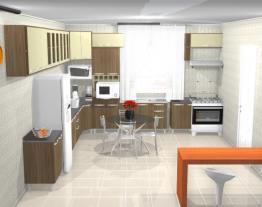 meu projeto cozinha planejada por Rosi rodriguesMeu projeto no Mooble
