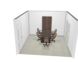moderna móveis para escritório sala reunião dr. Cristiano