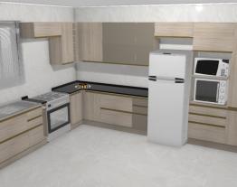Cristina cozinha