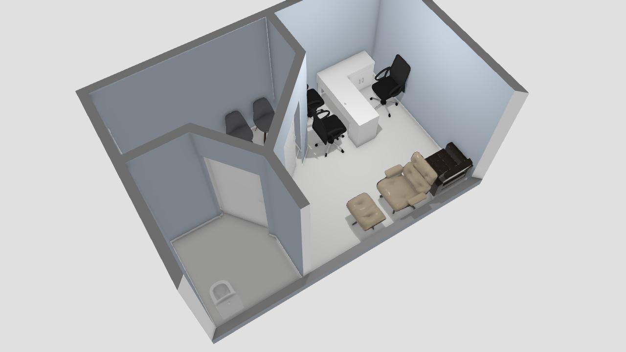 Pensando no espaço disponivel e criação de uma sala de atendimento terapia