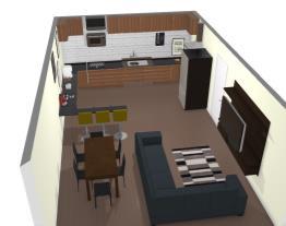 sala jantar/estar- cozinha