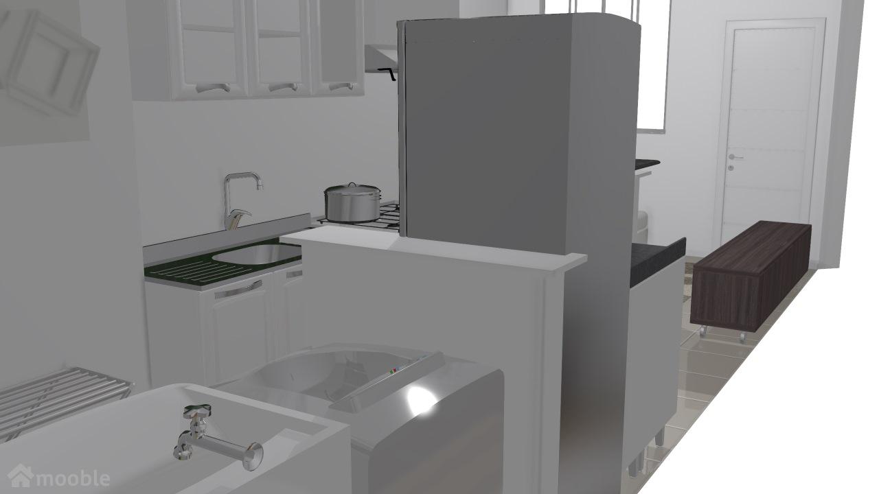 cozinha/sala lilia