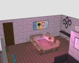 Sala de Estar + Cozinha. Cliente - Maria Do Socorro.