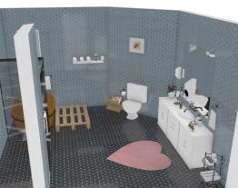 banheiro grande com ofuro