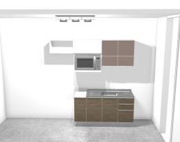 Cozinha + Quarto/Escritório/Estúdio/Costura