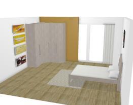 Quarto Casal Modulado Completo 4 Módulos Alpes - Santos Andirá