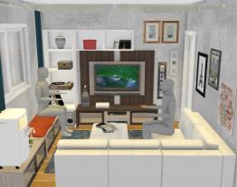Sala de TV_Alternativa 6