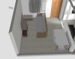 Cozinha + living sofá pallet 2