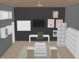 Meu quarto e o da duda