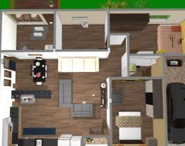 Casa do sitio sem desnivel