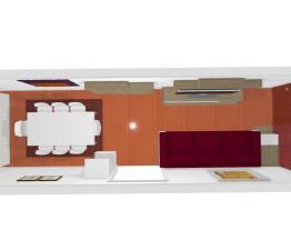Apartamento Campo Belo - Sala Dois Ambientes