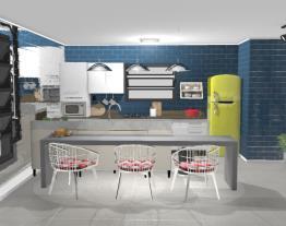 Projeto Itatiaia - cozinha despojada