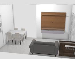 Meu projeto no Mooble thamillis sala da cliente