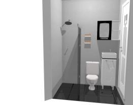 banheiro minusculo