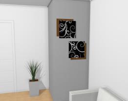 Escultura dee parede kit 2 peças Adorno MAZE 1 e 2 - Roncali