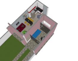 Sala e Cozinha Geladeira 454L