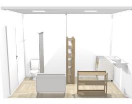 banheiro e lavanderia
