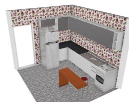 Meu projeto no Mooble- cozinha
