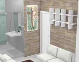 Banheiro principal/hal