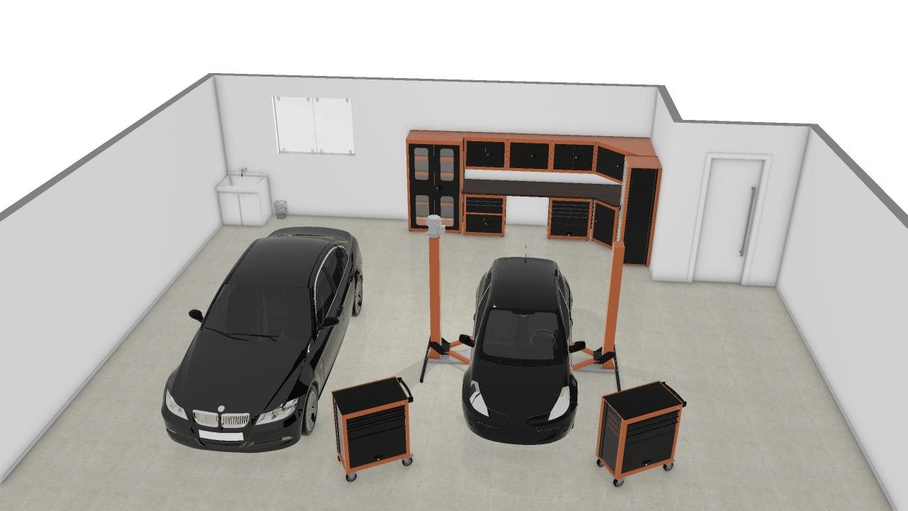 Oficina Modelo 1 De Tiago Planta 3d Mooble Tramontina Pro
