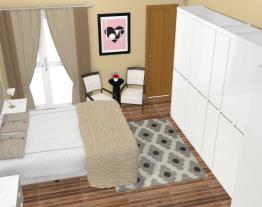 Dormitório modulado smart kappesberg