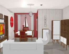 Sala Dois Ambientes Giselda