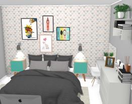 meu quarto tumblr e colorido