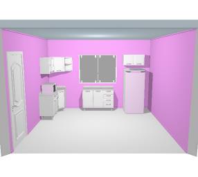 cozinha de Cleidiane