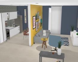 Banheiro/sala/cozinha
