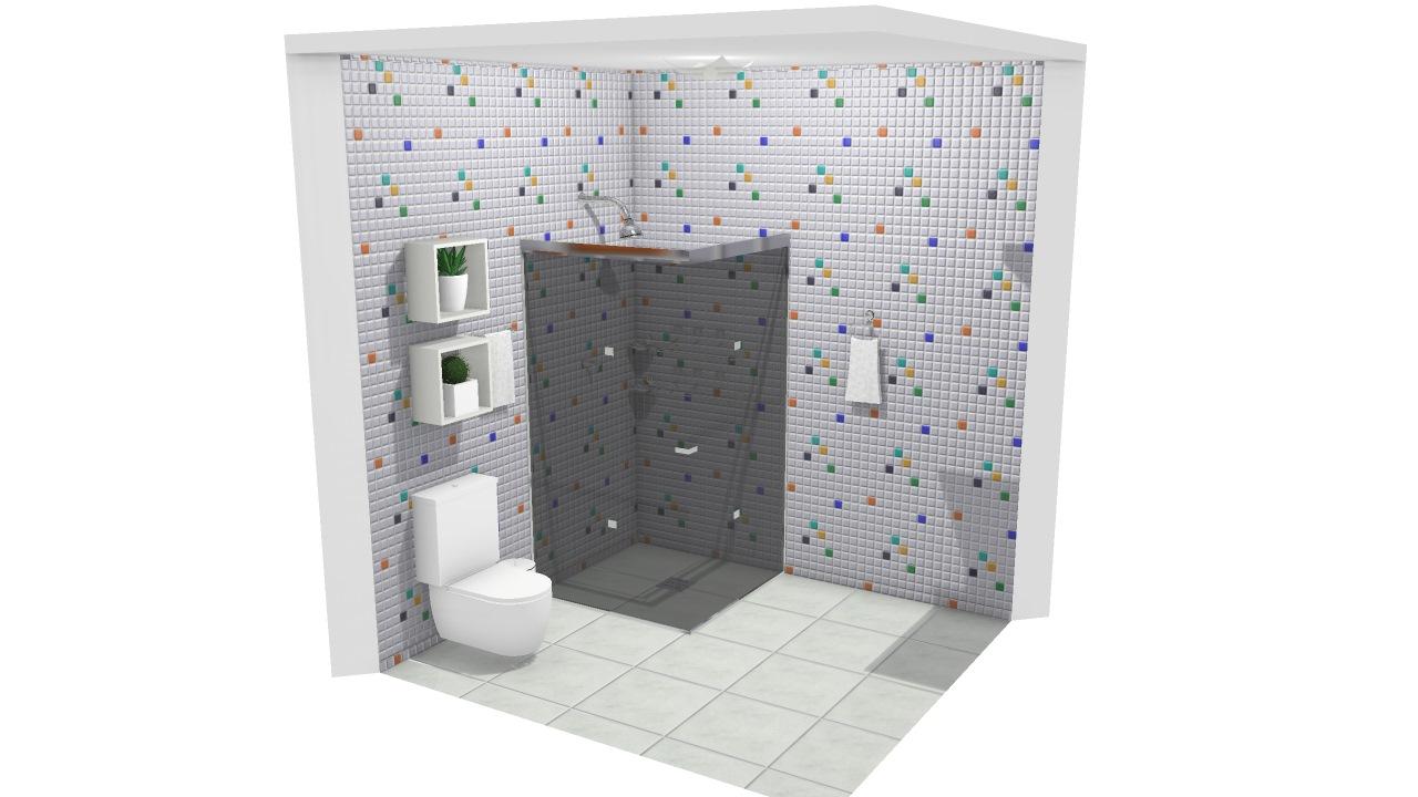 Banheiro das filhas