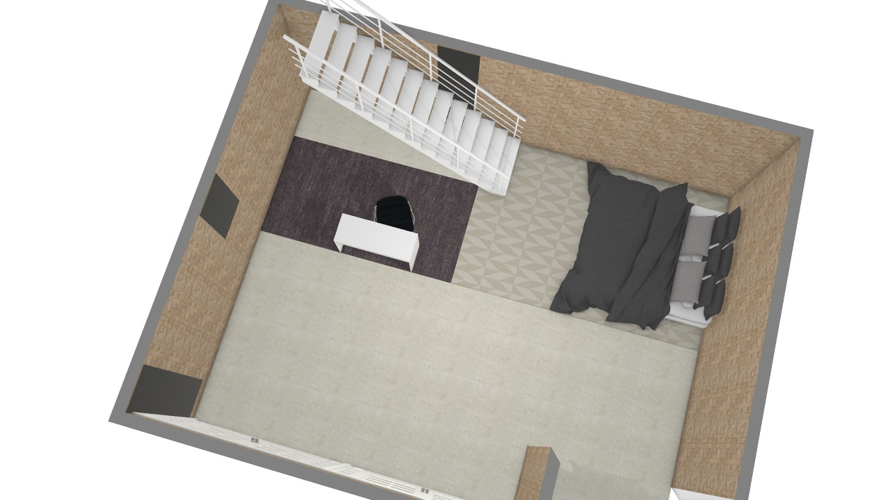 Loft com mezanino segunda andar