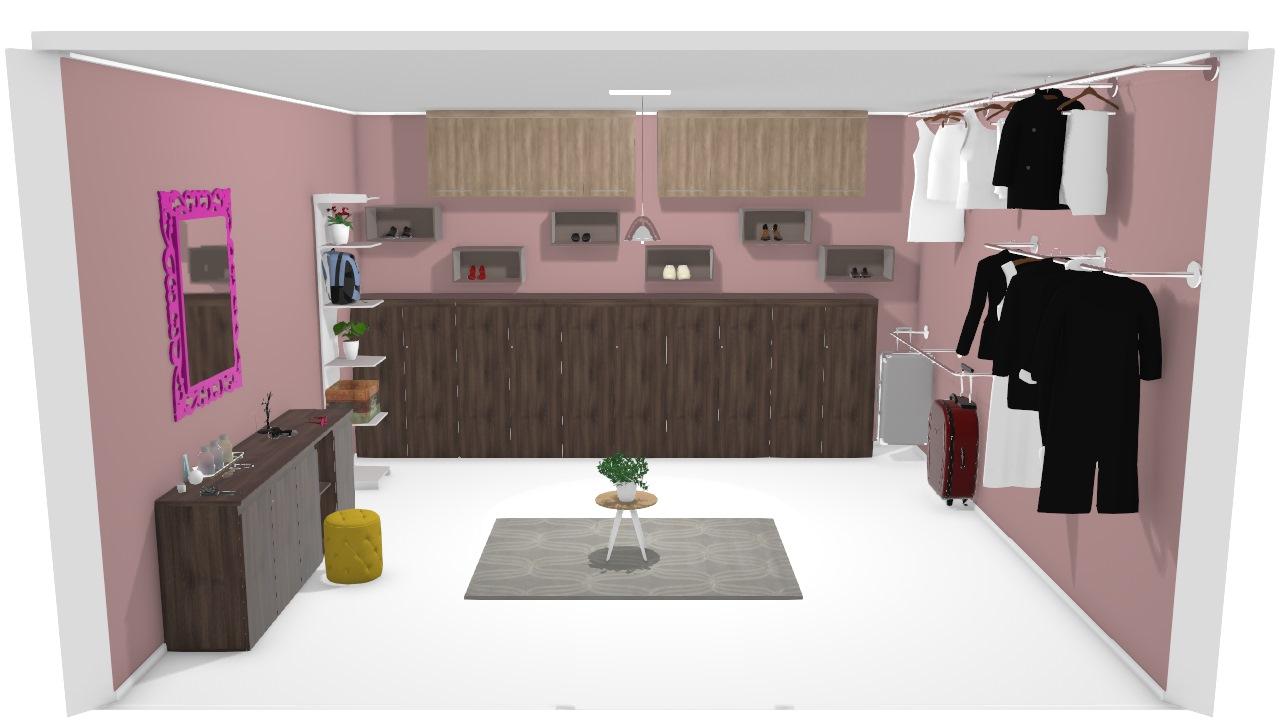 closet do quarto de casal