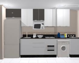 Cozinha + Lavanderia - Movelaria l Francisco Joly de Bastos