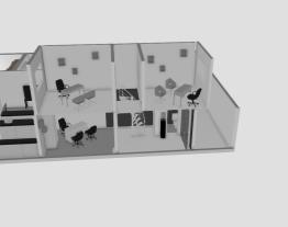 2 Quartos/Cozinha e Banheiro Novo/Clinica 2 andares