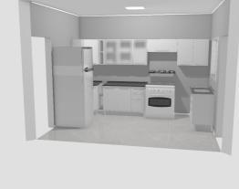 Projeto da cozinha Itatiaia