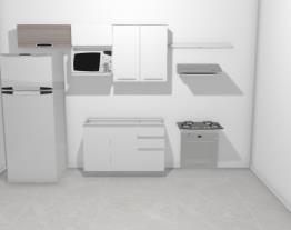 Cozinha casa completa