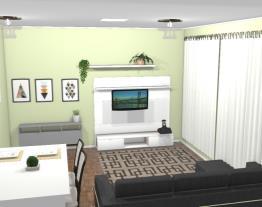 Sala e copa integrada 2