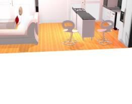 casa nova sala/cozinha