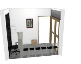 Recepção/Sala de Espera Escritório Dana 1