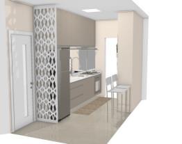 Cozinha pequena Graziela Lara