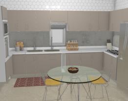 Cozinha: Julianny e Ricardo (Casa 4)