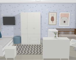 Quarto bebê ursinhos - Graziela Lara