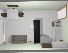 sala e cozinha kedima